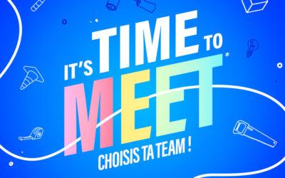 It's Time To Meet : Journée de créativité avec la Mini S !
