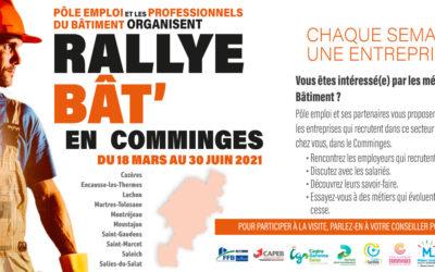 Rallye Bât'en Comminges – Chaque semaine : une entreprise, un métier!